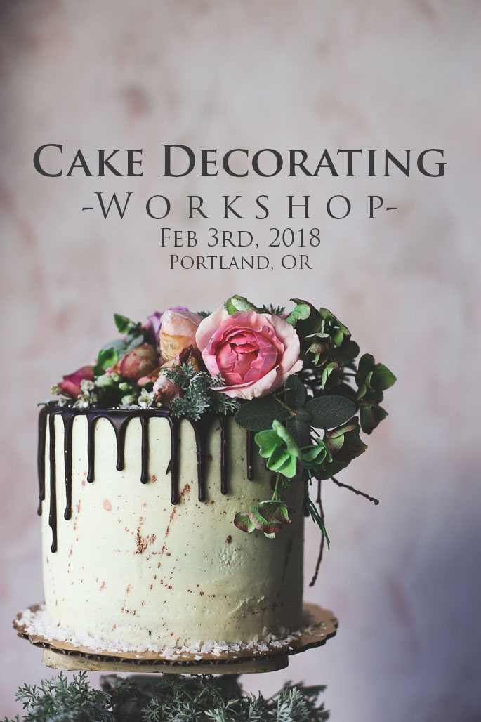 Cake Decorating And Styling Workshop Feb 2018 SOLD OUT