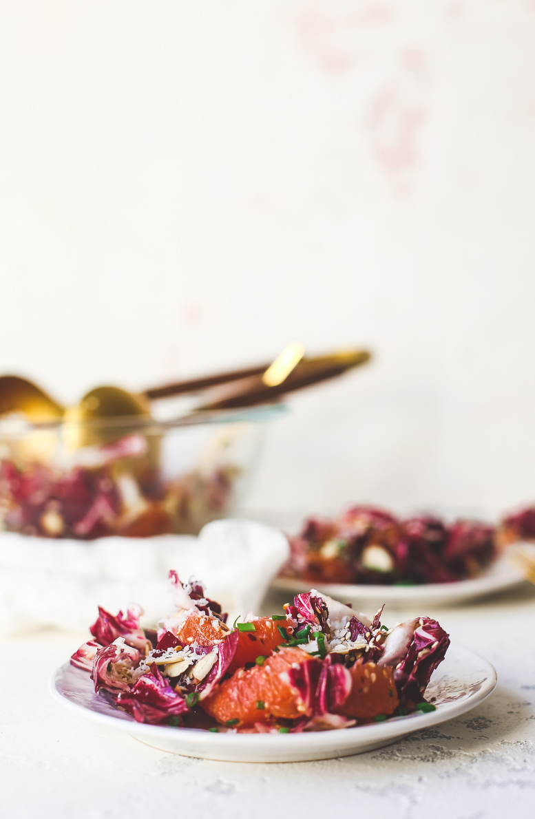 Radicchio and Cara Cara Sesame Salad