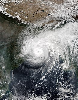 tropical cyclones in India