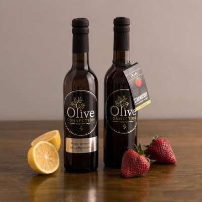 Meyer Lemon Balsamic-Strawberry Balsamic