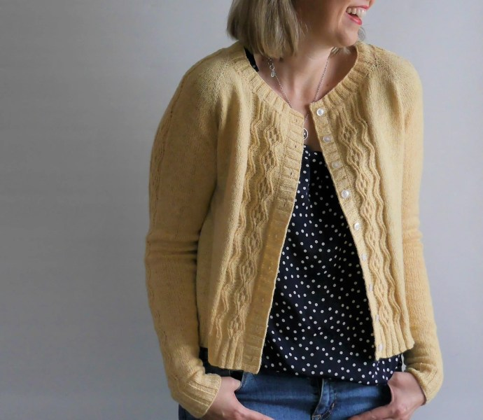 Mae Cardigan by Marie Greene