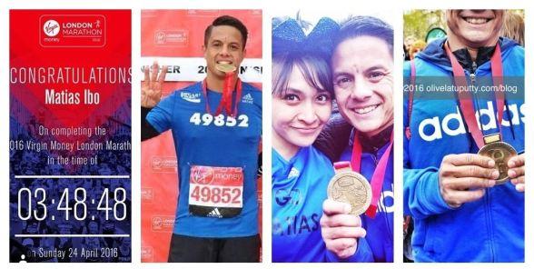 catatan dari london marathon