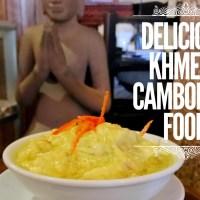 Mencoba Makanan Khas Kamboja di Siem Riep - Kamboja