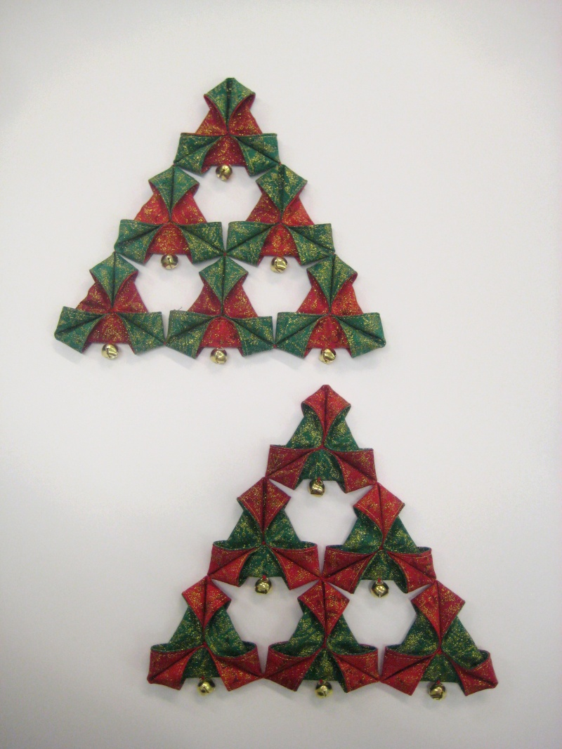 Christmas triangles  decoration  PDF pattern  Oliven