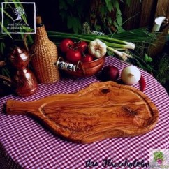 Kitchen Utensils Holder Islands With Seating For 2 Olive Wooden Steak Board Handle And Juice Groove ...