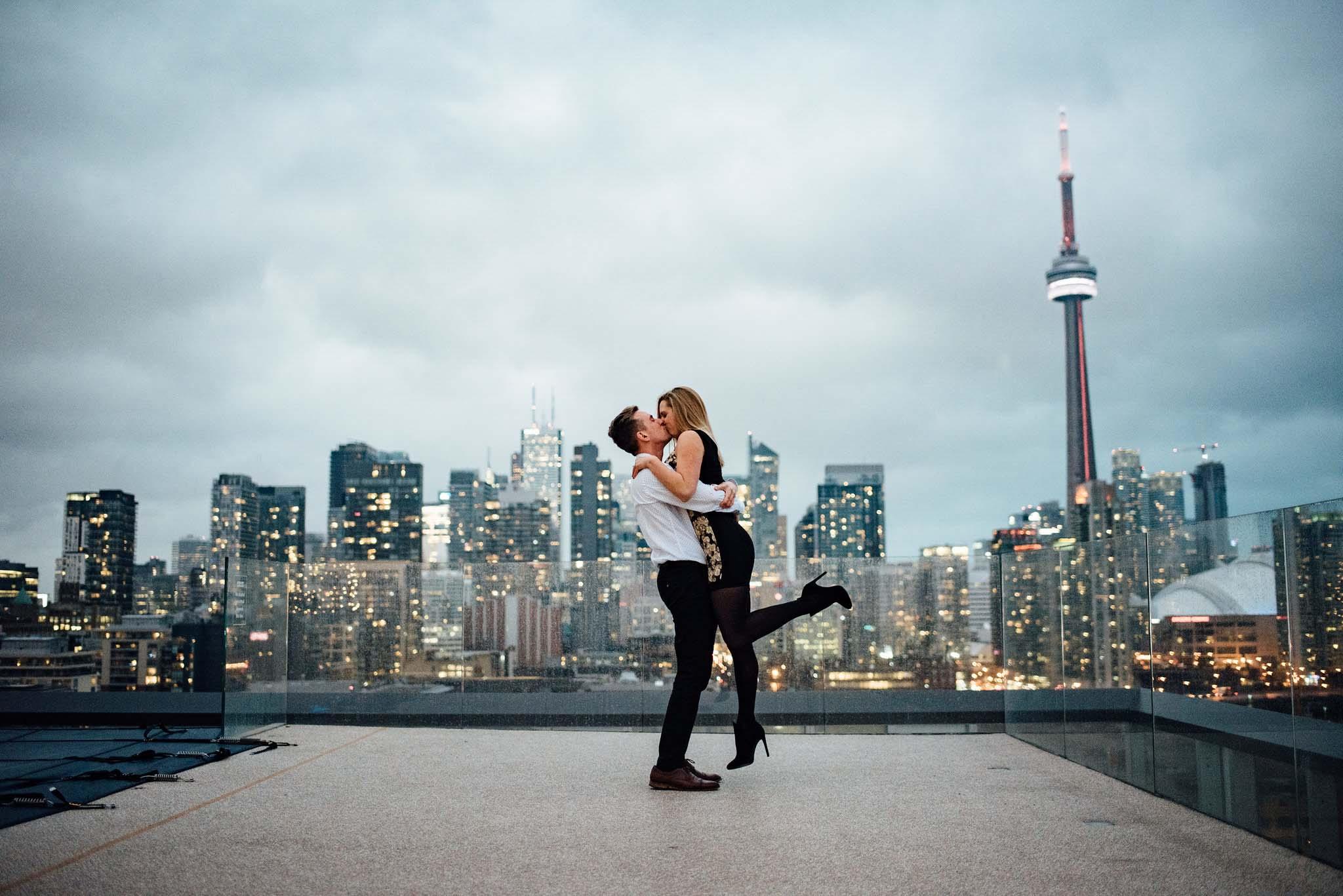 Surprise Toronto Proposal Photography Rob & Jeannie