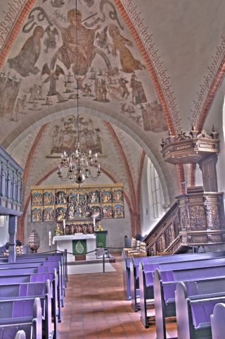 Nikolaikirche von Innen