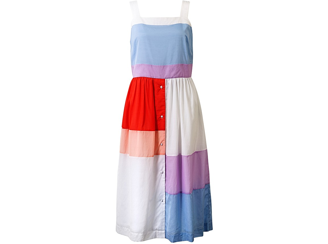 Colour Block Midi Sundress