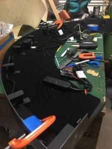Installing the Electrics