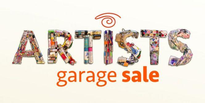Artist Garage Sale Flyer