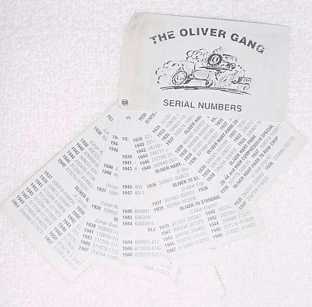 Oliver Gang Merchandise
