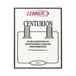 Lennox Centurion Award 2017