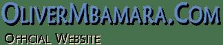 Top image logo of oliver mbamara .com