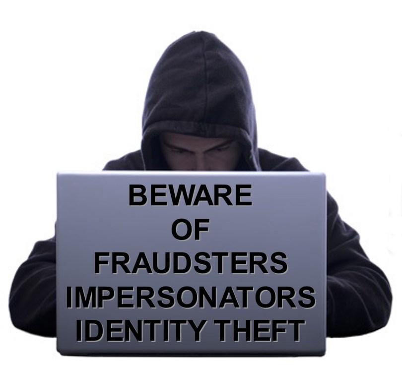 Beware of Fraudsters
