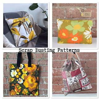 Scrap Busting Patterns + Sewing Kits