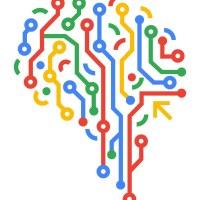 Brain node abstract diagram