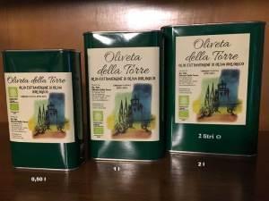"""Olio EVO BIO """"Oliveta della Torre"""" 2016"""