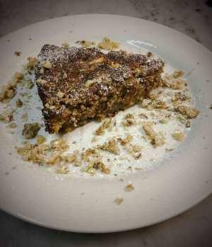 Torta di mele e noci all'olio EVO - gâteau aux pommes à l'huile d'olive