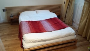 Ultra Comfortable Double Bed - enjoy a great night's sleep
