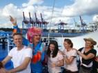 Bord-Polonaise: Bei Olivia Ahoi! steht der Spaß im Mittelpunkt.