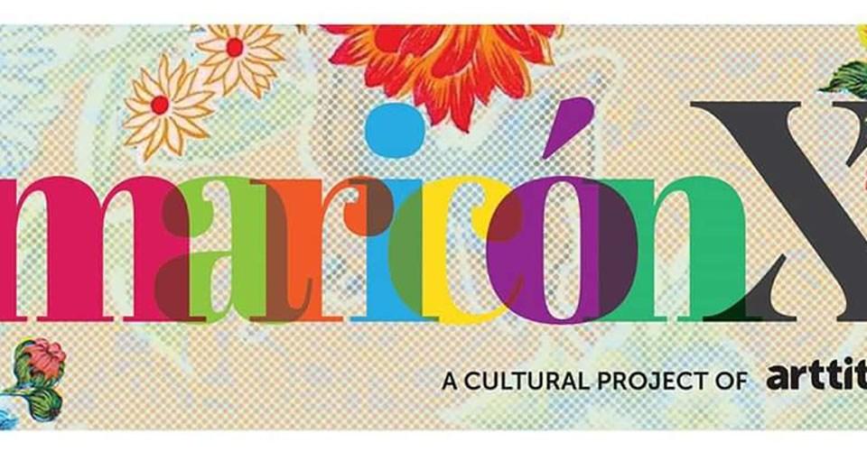 Logotipo de la exposición Mariconx