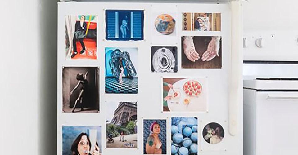 Imágenes de la exposición The Curated Fridge Summer 2019