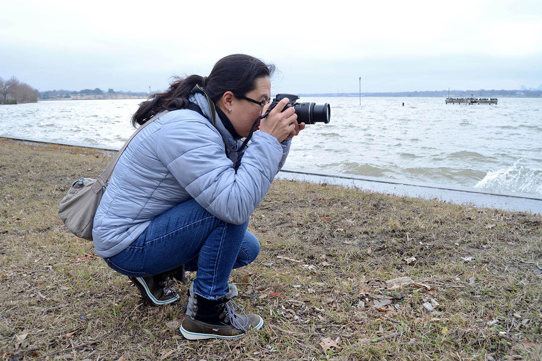 Curso de fotografía en el White Rock Lake