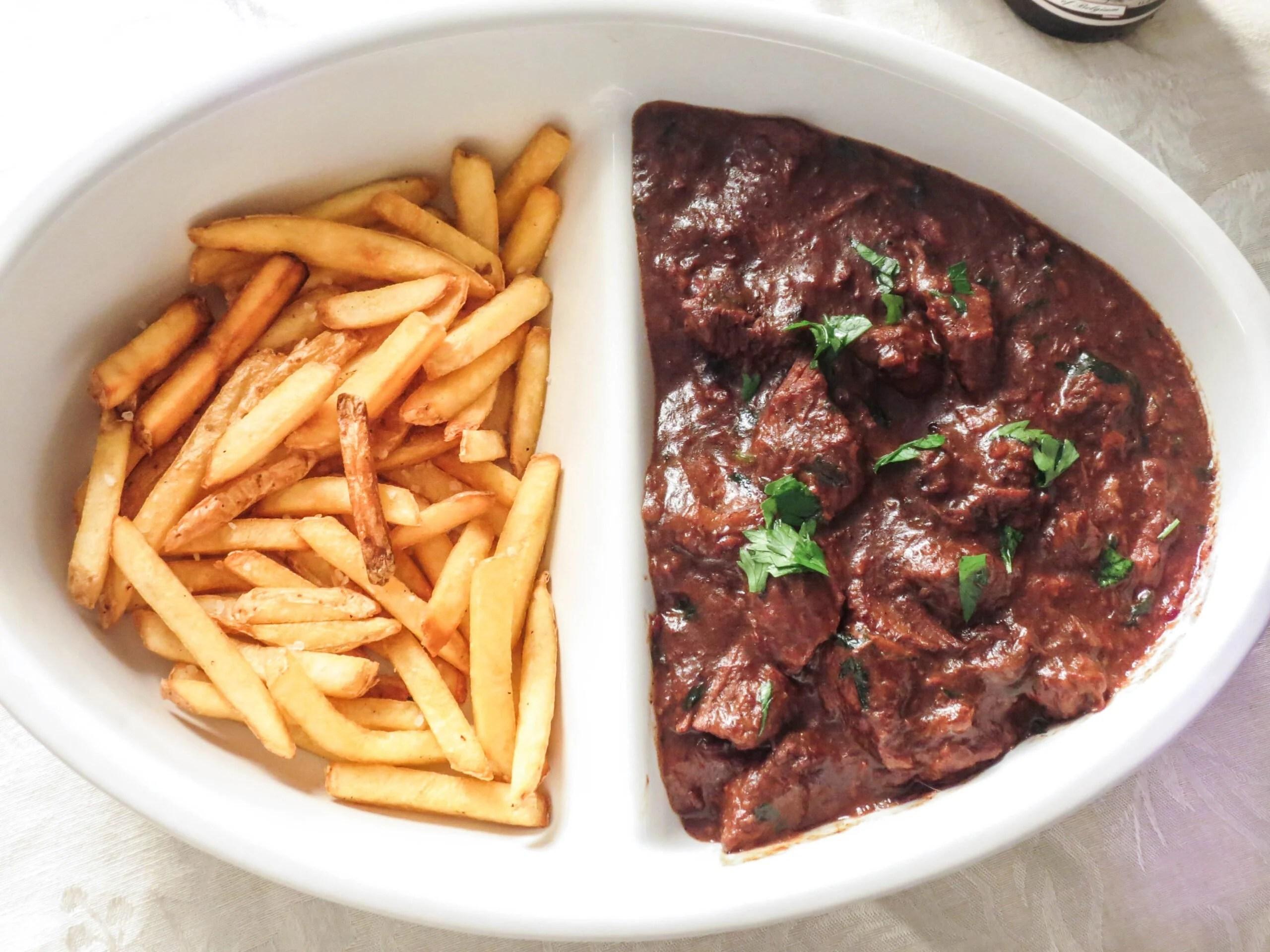 Carbonnade Flamande (Belgium Beef and Beer Stew) - Olivia