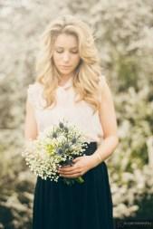 bouquet fleurs mariee
