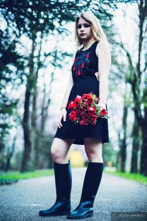 bouquets roses lyon