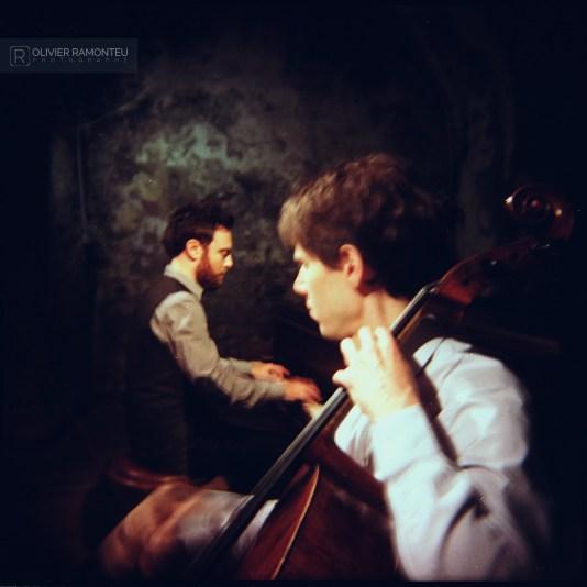 photo concert trio mogano