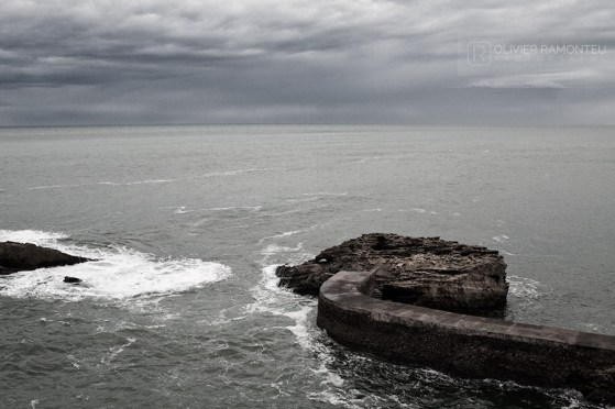 Photo du port de Biarritz