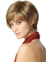 easy short haircuts thick