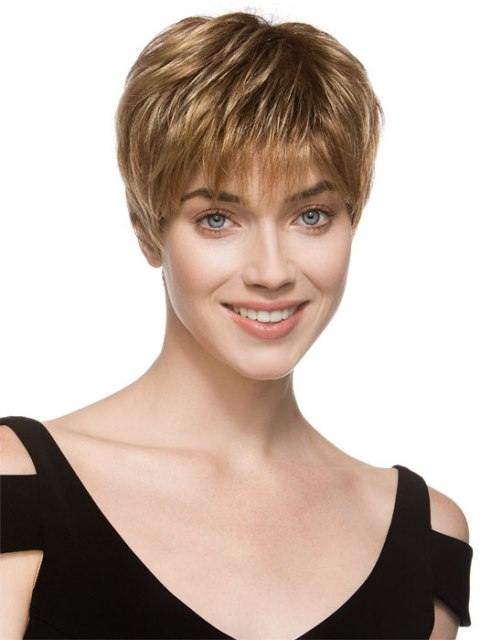 short hairstyles thick hair