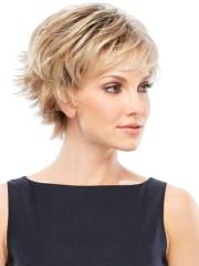 simple short hair cuts women