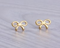 Tiny Gold Stud Earrings Cute Small Gold Stud Earrings