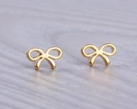 Tiny Gold Stud Earrings Cute Small Gold Stud Earrings