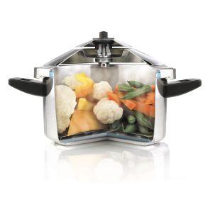 Ventajas de cocinar con olla express olla express for Cocinar con olla express