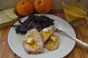 Lomo en salsa de naranja - Lola Velasco