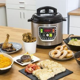 robot de cocina olla programable gm g