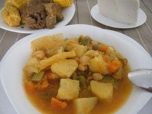 cocido canario - puchero