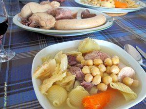 escudella i carn d'olla - cocido catalan