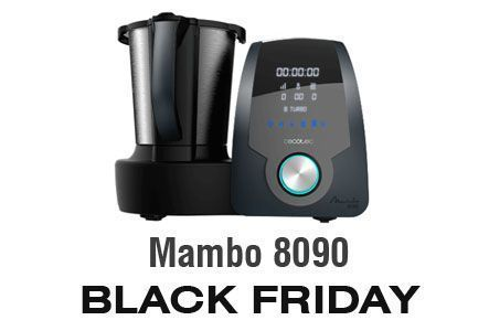 Robot de cocina Mambo 8090 en oferta en el BLACK FRIDAY de Amazon 2019
