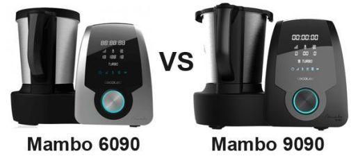Mambo 6090 vs 9090 - robot de cocina Cecotec