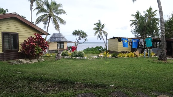Fijian village photo