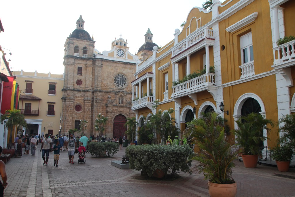 San Pedro Claver Church and its plaza - Cartagena