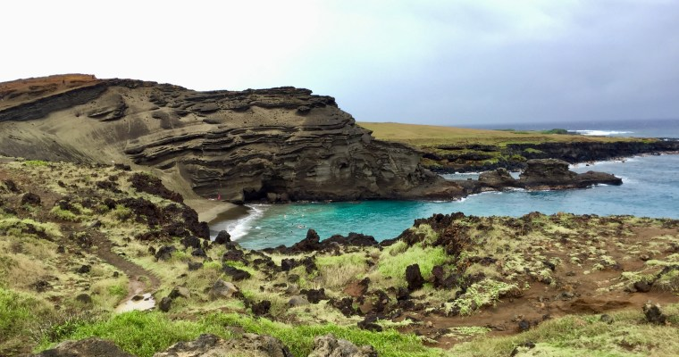 PapaKolea – Green sand beach hike