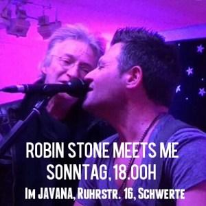 Robin Stone meets Olli Heinze