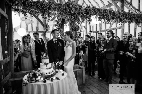 Rob & Sarah's Wedding at Winters Barns