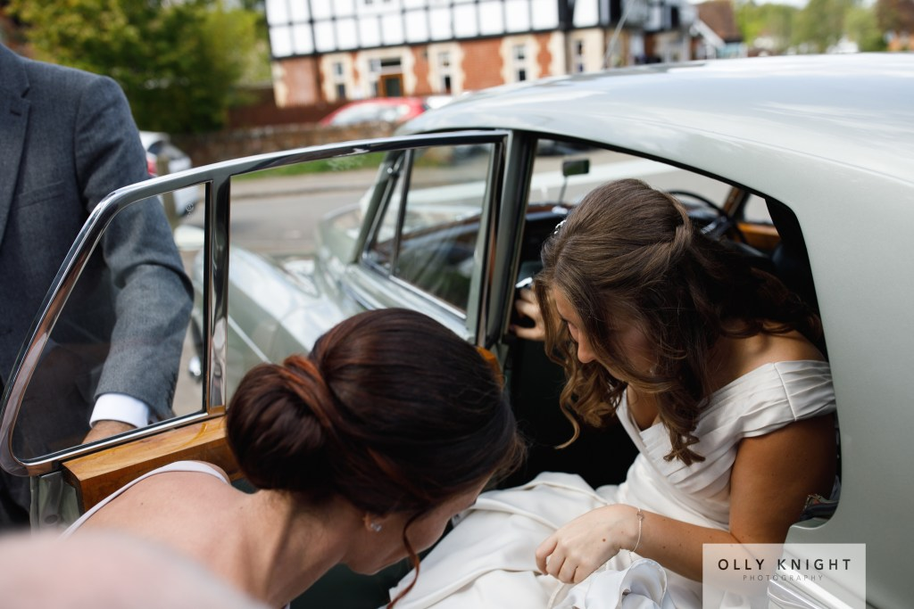 Sam & Ceri's Wedding at The Crown and Cushion in Minley